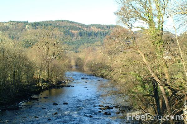 Picture of River Conwy, Betws-Y-Coed - Free Pictures - FreeFoto.com