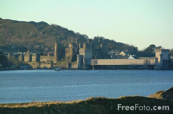 Picture of Conwy Castle - Free Pictures - FreeFoto.com