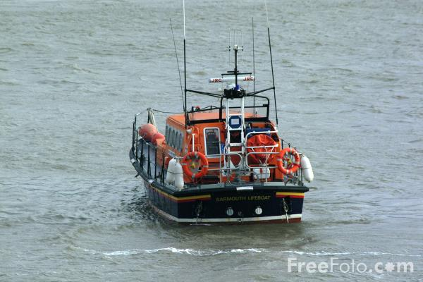 Picture of RNLI Barmouth Lifeboat - Free Pictures - FreeFoto.com