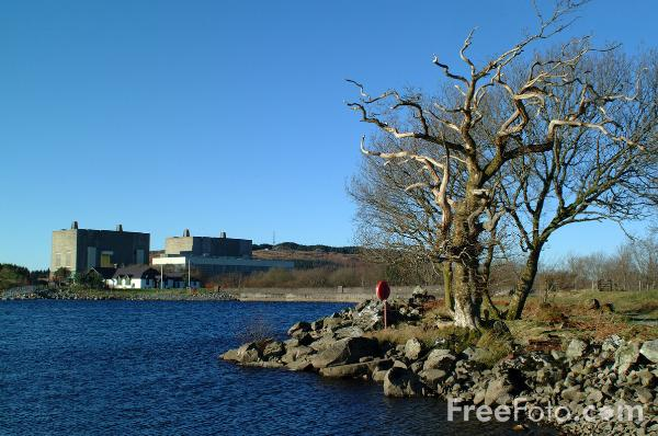 Picture of Trawsfynydd Power Station - Free Pictures - FreeFoto.com
