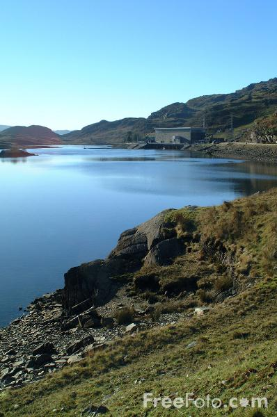 Picture of Ffestiniog Power Station - the first pumped storage power station in the UK - Free Pictures - FreeFoto.com