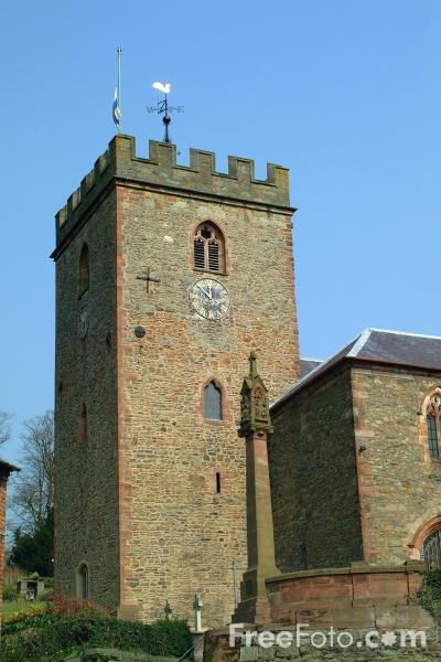 Picture of St Mary's Parish Church, Welshpool, Powys, Wales - Free Pictures - FreeFoto.com