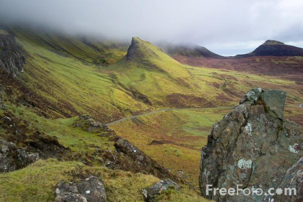 Picture of Quiraing, Isle of Skye, Scotland - Free Pictures - FreeFoto.com