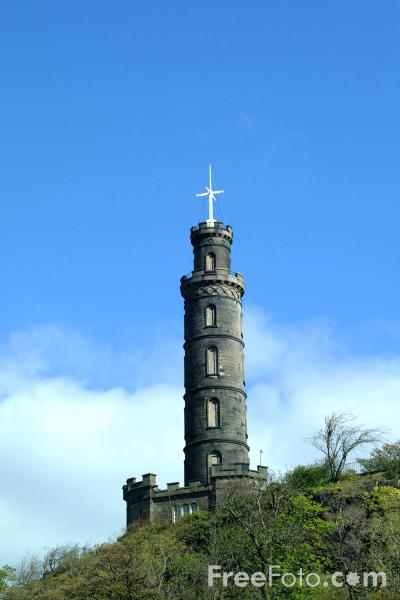 Picture of Nelson Monument, Calton Hill, Edinburgh - Free Pictures - FreeFoto.com