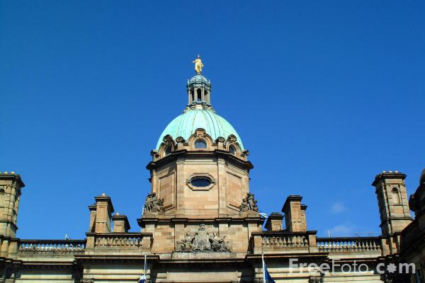 Picture of HBOS head office, Edinburgh - Free Pictures - FreeFoto.com