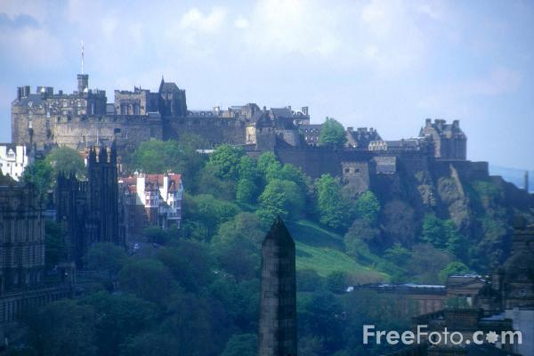 Picture of View from Calton Hill, Edinburgh - Free Pictures - FreeFoto.com