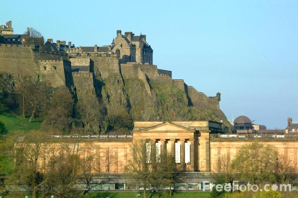 Picture of National Gallery of Scotland, Edinburgh - Free Pictures - FreeFoto.com