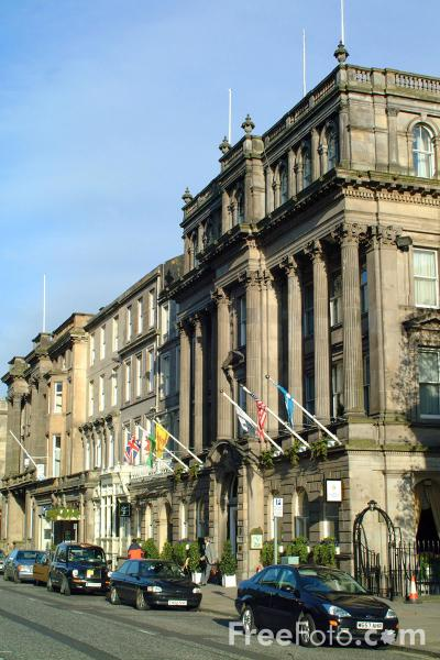 Picture of George Inter-Continental Hotel, George Street, Edinburgh - Free Pictures - FreeFoto.com