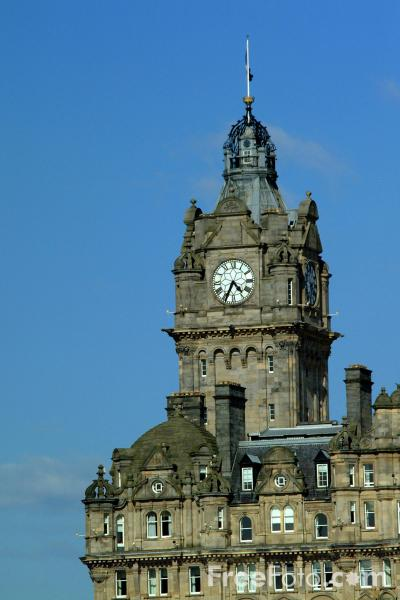 Picture of The Balmoral Hotel, Edinburgh - Free Pictures - FreeFoto.com