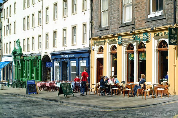 Picture of Grassmarket, Edinburgh - Free Pictures - FreeFoto.com
