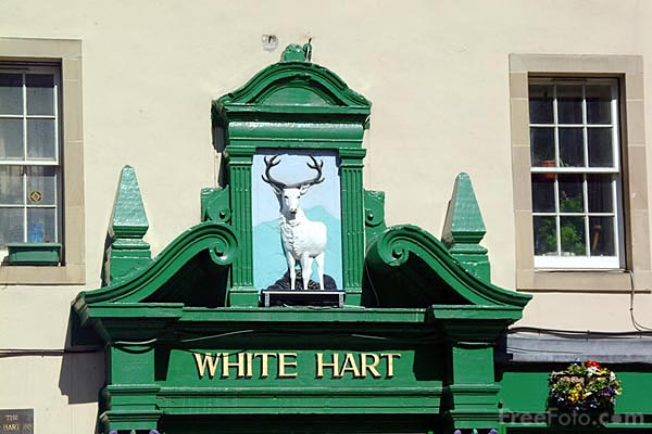Picture of The White Hart Inn - claims to be the oldest pub in Edinburgh. - Free Pictures - FreeFoto.com