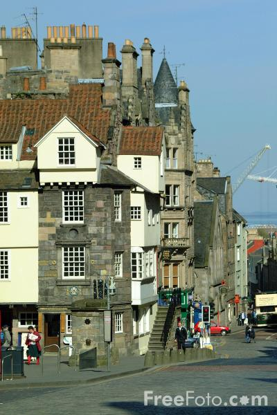 Picture of John Knox house, The Royal Mile, Edinburgh - Free Pictures - FreeFoto.com
