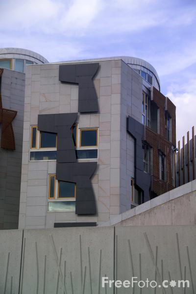 Picture of The Scottish Parliament, Edinburgh - Free Pictures - FreeFoto.com