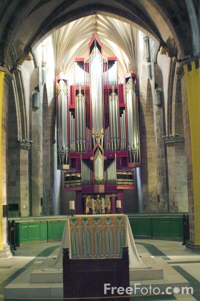 Picture of St. Giles Cathedral, Edinburgh - Free Pictures - FreeFoto.com