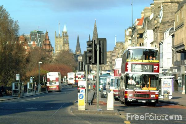 Picture of Transport, Edinburgh - Free Pictures - FreeFoto.com