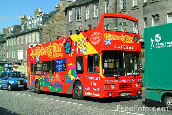 Picture of Edinburgh Tour by City Sightseeing - Free Pictures - FreeFoto.com