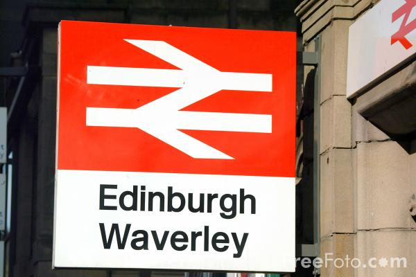 Picture of Edinburgh Waverley Station - Free Pictures - FreeFoto.com