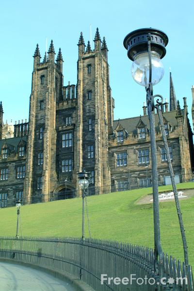Picture of General Assembly Hall of the Church of Scotland, Edinburgh - Free Pictures - FreeFoto.com