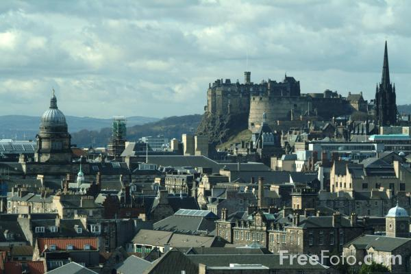 Picture of Edinburgh Skyline - Free Pictures - FreeFoto.com