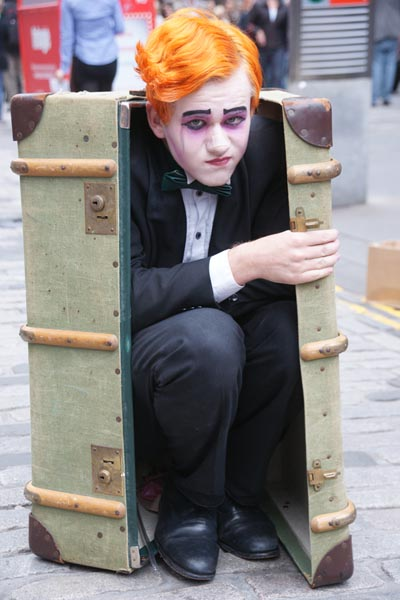 Picture of Edinburgh Festival Fringe - Free Pictures - FreeFoto.com