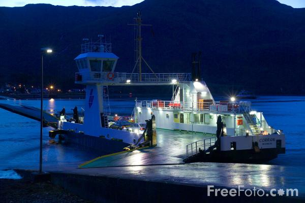 Picture of Corran Ferry - Free Pictures - FreeFoto.com