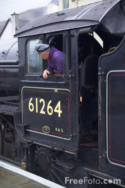 Picture of LNER Class B1 4-6-0 61264 - Free Pictures - FreeFoto.com