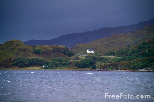 Picture of Loch Ailort - Free Pictures - FreeFoto.com