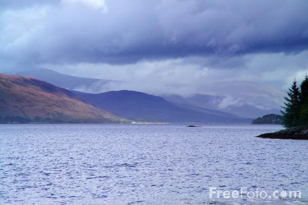 Picture of Loch Linnhe - Free Pictures - FreeFoto.com