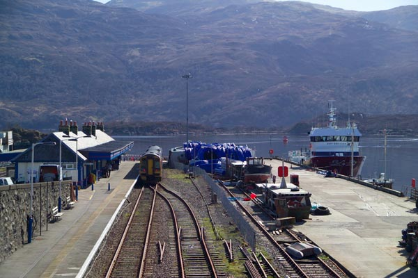 Picture of Railway Station, Kyle of Lochalsh, Scotland - Free Pictures - FreeFoto.com