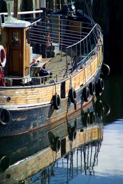 Picture of Fishing Boat, Kyle of Lochalsh, Scotland - Free Pictures - FreeFoto.com