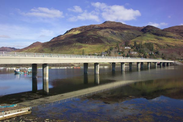 Picture of Bridge, Dornie, Scotland - Free Pictures - FreeFoto.com
