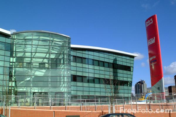Picture of Daily Record Offices, Glasgow - Free Pictures - FreeFoto.com