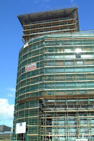 Picture of Office Building Construction, Glasgow Business District - Free Pictures - FreeFoto.com