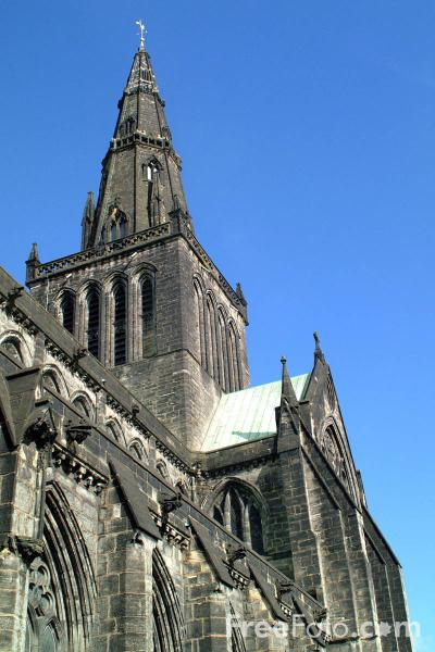 Picture of Glasgow Cathedral - Free Pictures - FreeFoto.com