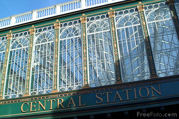 Picture of Glasgow Central Station - Free Pictures - FreeFoto.com