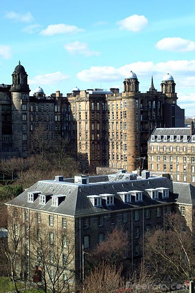 Picture of Tenement Buildings, Glasgow - Free Pictures - FreeFoto.com