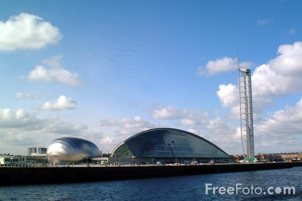 Picture of Pacific Quay, Glasgow - Free Pictures - FreeFoto.com