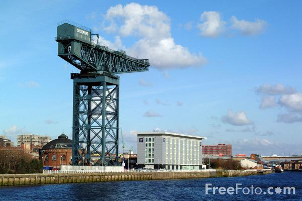 Picture of River Clyde, Glasgow - Free Pictures - FreeFoto.com
