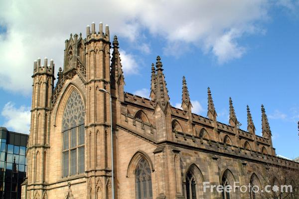 Picture of St Andrews Cathedral, Glasgow - Free Pictures - FreeFoto.com