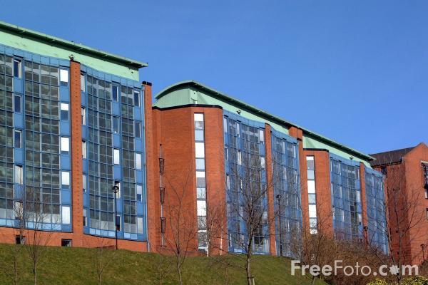 Picture of Strathclyde University, Glasgow - Free Pictures - FreeFoto.com