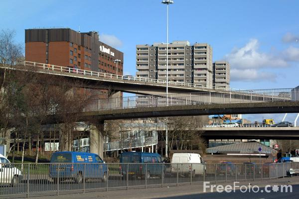 Picture of Clydeside Expressway - Free Pictures - FreeFoto.com