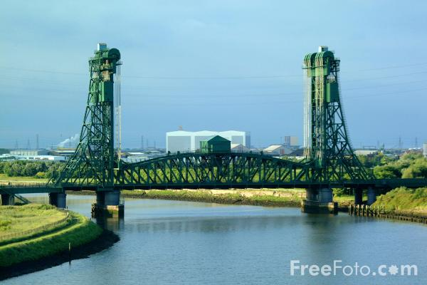 Picture of Newport Bridge, Middlesbrough. - Free Pictures - FreeFoto.com