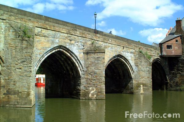 Picture of Stone Bridge, Durham City - Free Pictures - FreeFoto.com