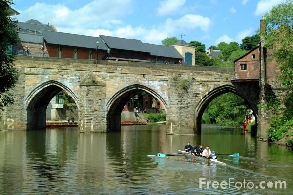 Stone Bridge, Durham City pictures, free use image, 11-01-25 by ...