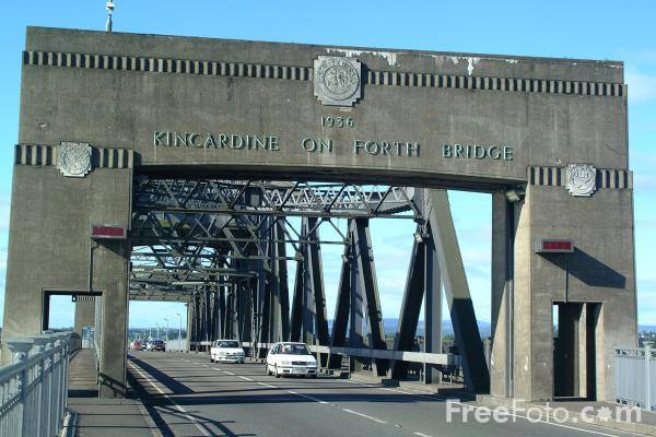 Picture of Kincardine on Forth Bridge - Free Pictures - FreeFoto.com
