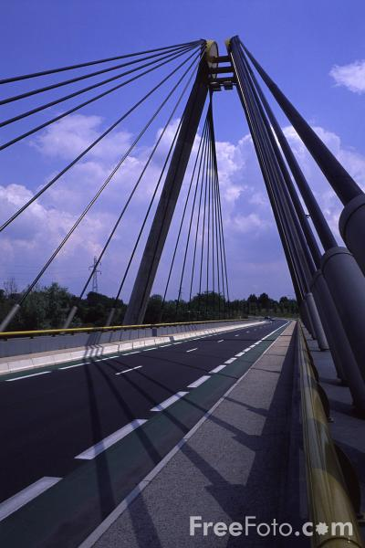 Picture of Road Bridge, France - Free Pictures - FreeFoto.com