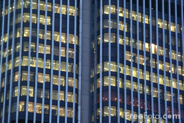 Picture of Office Block - Free Pictures - FreeFoto.com