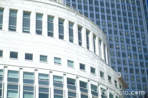 Picture of Office Building, Canary Wharf, London - Free Pictures - FreeFoto.com