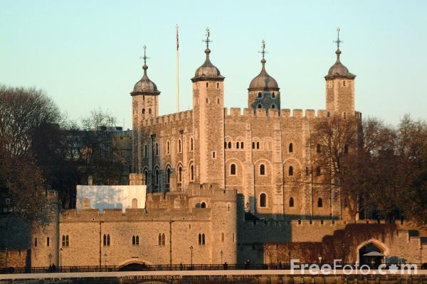 Picture of The Tower of London - Free Pictures - FreeFoto.com