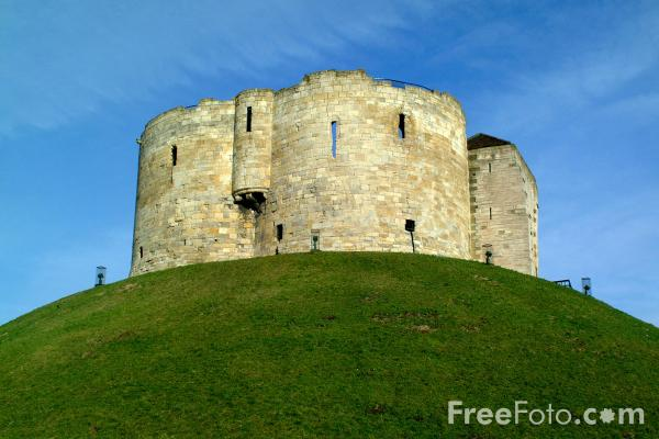 Picture of Castle Keep, York - Free Pictures - FreeFoto.com